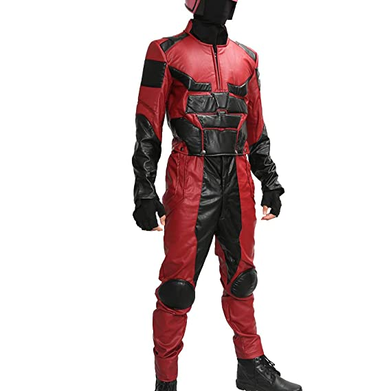 Nexthops Disfraz de Daredevil cómics de superhéroes Traje PU ...