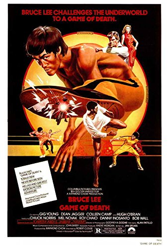 (Game of Death Poster 27x40 Bruce Lee Dean Jagger Kareem Abdul-Jabbar)