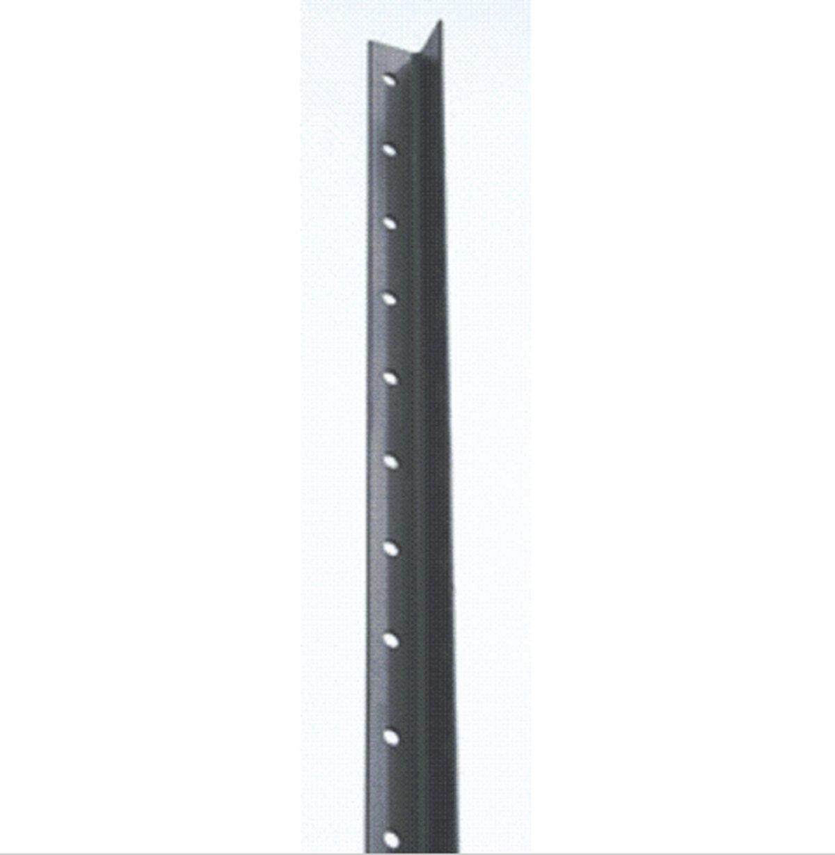USA Premium Store 10 Steel Angle Black 8ft Fence Posts Deer Garden Posts by USA Premium Store