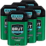 Brut Anti-Perspirant Plus Deodorant, Blue Wave, 2 Ounce (Pack of 6)