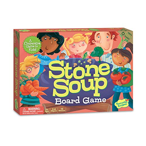 Peaceable Kingdom Stone Soup Cooperative Memory Board Game for Kids ()