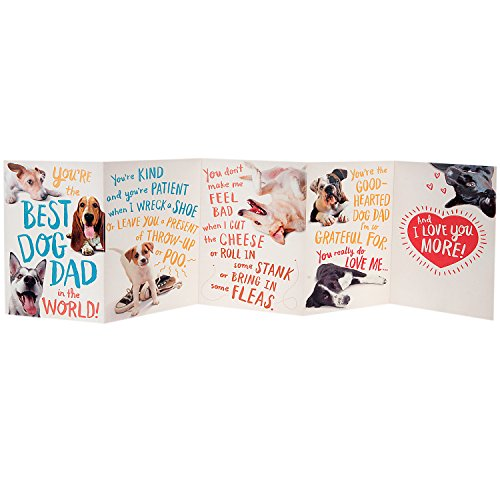 Hallmark Funny Father's Day Greeting Card from the Dog (Dog Dad) Photo #4