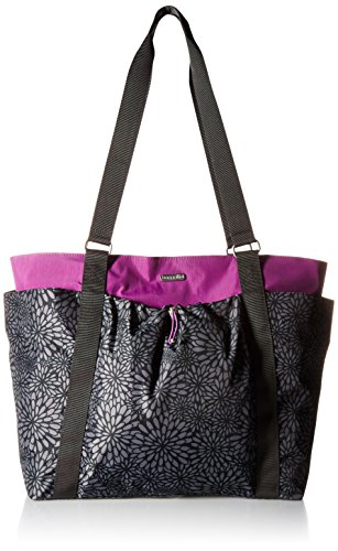 Baggallini Women's Have It All Weekender, Pewter Floral Multi