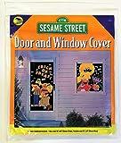 Halloween Window and Door Decorations - Sesame Street [2 posters per pack].