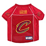 Cleveland Cavaliers Official NBA Pet Jersey Size S by Little Earth 875039
