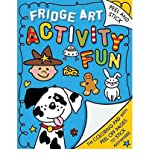 Stick It Fridge Art: The Coloring Pad with Peel-Off Pages That Stick Anywhere! (Paperback) - Common
