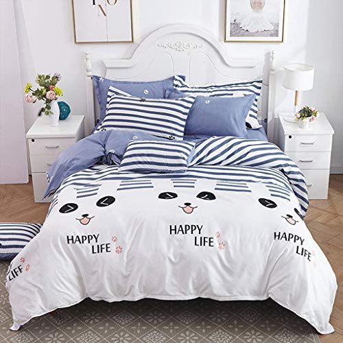 NEARTIMEDuvet Cover 3 Piece Sets-Ultra Soft Double Brushed Microfiber Collection-Comforter Cover Closure and 2 Pillowcase