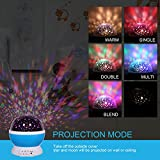 Music Star Projector Night Lights for