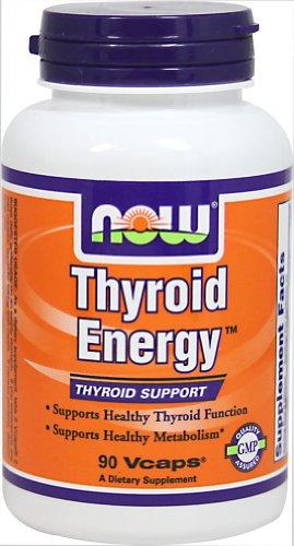AHORA alimentos tiroides Vegi de energía-90 Caps