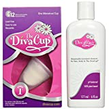 The DivaCup cup model 1 and wash, 177ml