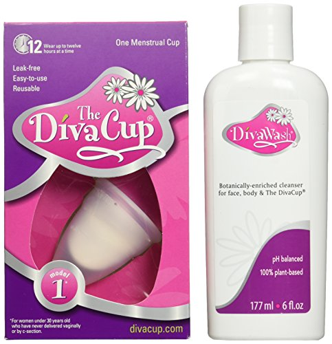 Diva cup model 1 and wash health world each for A diva cup