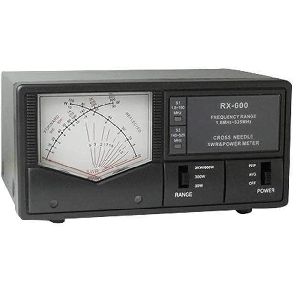 Maas RX 40 MHz N-Buchse 140 525 SWR Meter