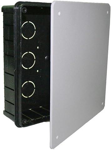 Solera 320 - Caja 200x200x65 tapa blanco tornillos: Amazon.es ...