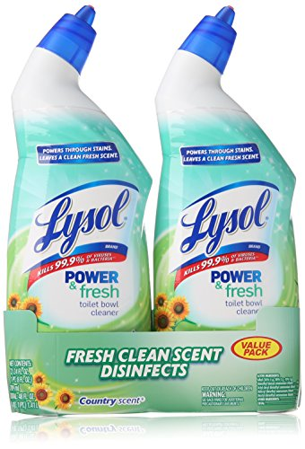Lysol Toilet Cleaner Country 2x24oz product image