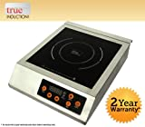 induction cooktop 220v - True Induction F-IH-03SS  3200W Commercial Single Induction Cook Top, 220V