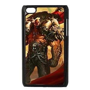 iPod Touch 4 Case Black Garrosh Hellscream 004 YWU9293947KSL