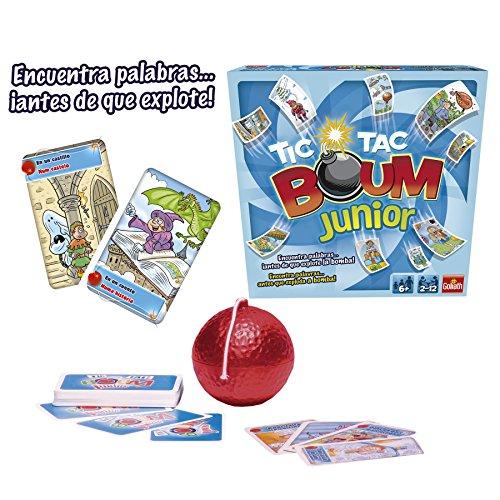 Goliath Tic Tac Boum Junior Juego De Cartas Encuentra La