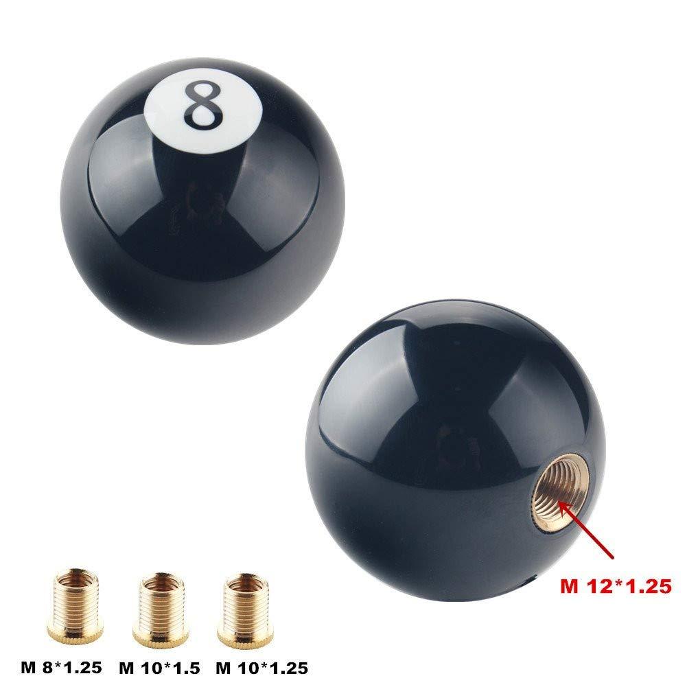 cambio manuale NZNNXN leva del cambio numero 8 palla da biliardo automatica pomello del cambio rotondo forma sferica