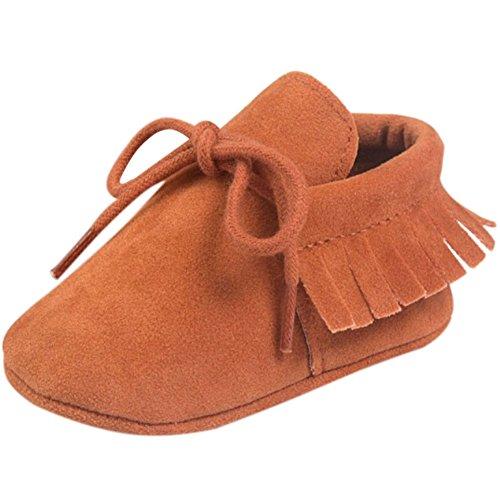 Etrack-Online Baby Sneakers - Zapatos primeros pasos para niño naranja
