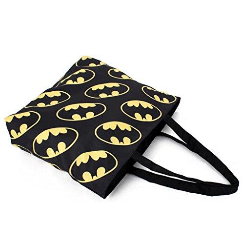 THENICE Fashion Printing Retro Shopping Bat Women's Bags Shoulder URwBrUFq
