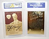 #6: PEYTON MANNING 1998 Draft Pick FEEL THE GAME Gold Card - Graded GEM MINT 10