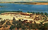 Lake Murray Lodge Ardmore, Oklahoma Original Vintage Postcard