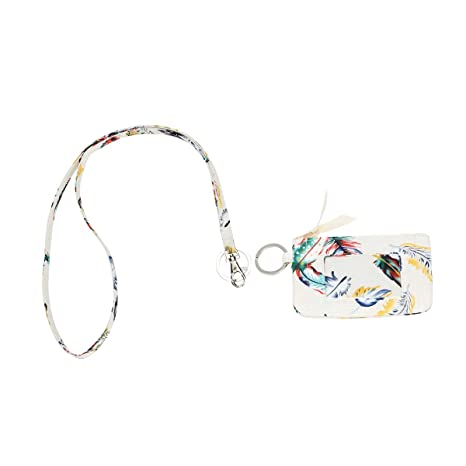 52b1d49435c0 Amazon.com : Leanoria Zip ID Case and Lanyard with Wallet Fashion ...