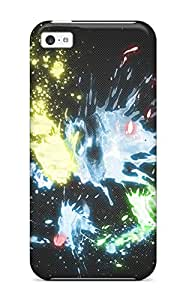 Cheap Fashion Protective Multicolour Abstract Case Cover For Iphone 5c 8212796K73602949