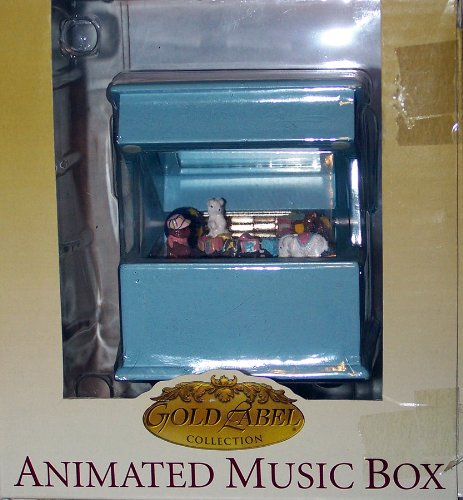 Animated Music Box -