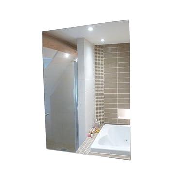 Ardisle a4 plastic wall mirror tiles anti shatter safety acrylic ardisle a4 plastic wall mirror tiles anti shatter safety acrylic sheet adhesive stick on 30cm freerunsca Image collections