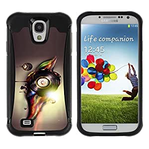 LASTONE PHONE CASE / Suave Silicona Caso Carcasa de Caucho Funda para Samsung Galaxy S4 I9500 / Abstract Vinyl