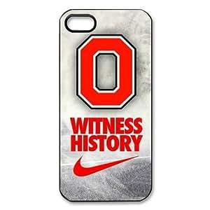 DIY Case 8 Sports NCAA Ohio State Buckeyes iPhone 5/5s Case-Just DO It