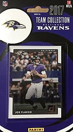 5df1efaba Amazon.com  Baltimore Ravens 2017 Donruss Factory Sealed Team Set ...