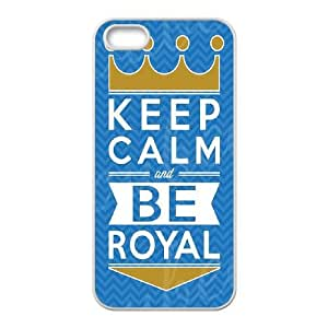 Customized Case Cover for iPhone 5,5S - Kansas City Royals case 3