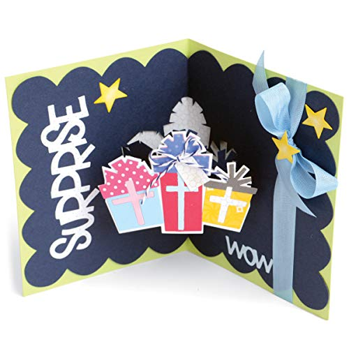 Die Card Scallop with Gifts Dropins (12 ()