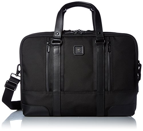 Victorinox Nylon Briefcase - Victorinox Lexicon Professional Lexington 15, Black