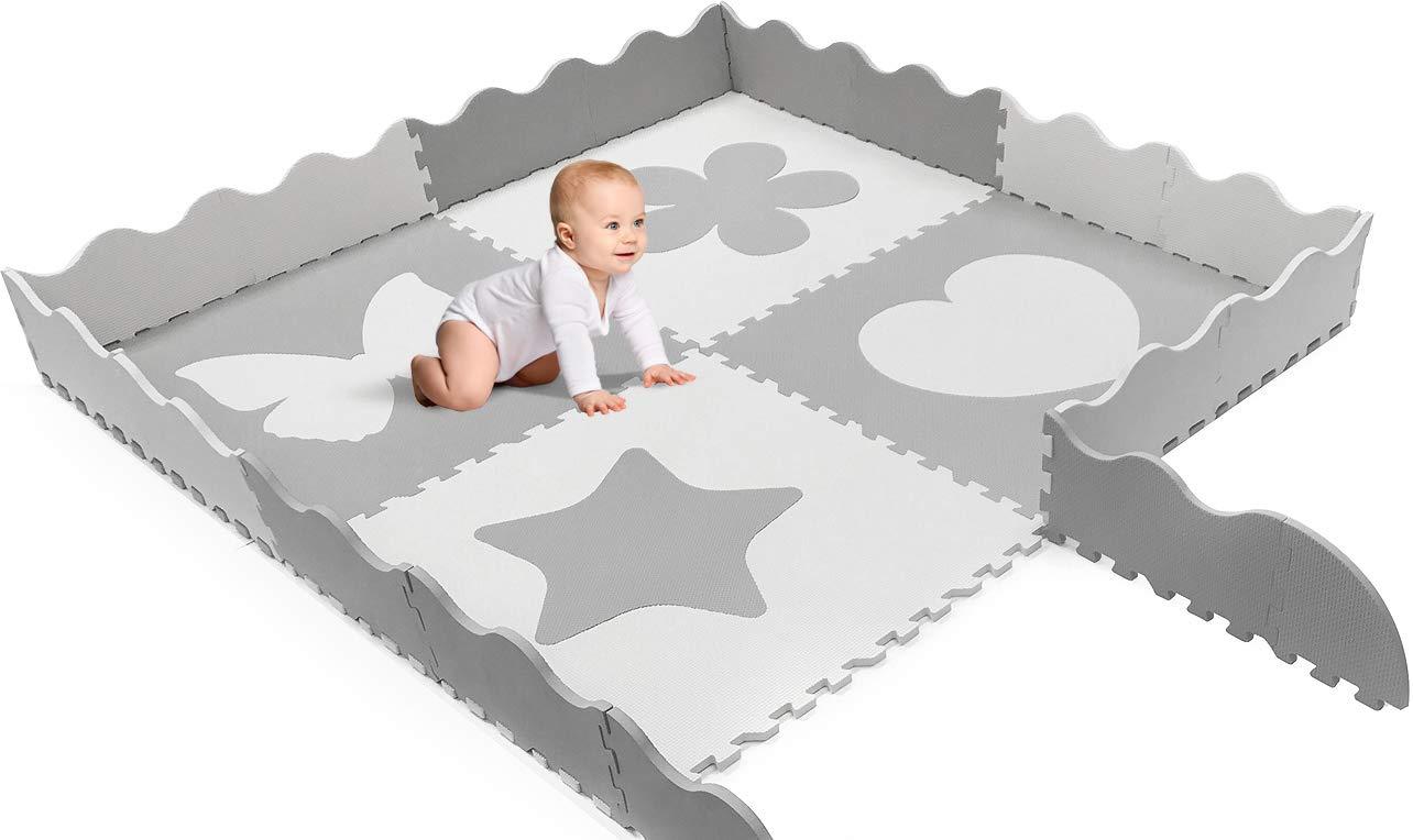 New 4 x giant Toddler Baby EVA foam activity playmat Floor Mat Tile