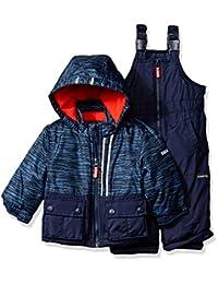 OshKosh baby-boys Baby Boys Navy Infant Boys Hw Snowsuit B2176s11