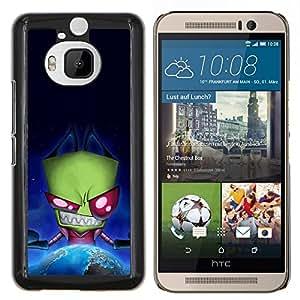 Cubierta protectora del caso de Shell Plástico || HTC One M9+ M9 Plus || Extranjera divertida Espacio Evil @XPTECH
