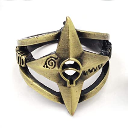 Amazon.com: Coz Place Bronze Naruto Shuriken Ninja Cosplay ...