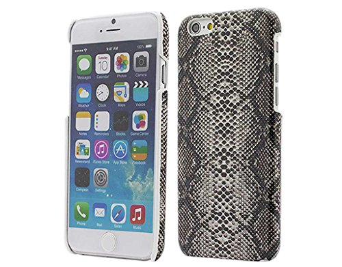Snake Pattern Design (BONAMART ® Sequins Snakeskin Pattern PC Hard Case Cover for Apple iPhone 6 4.7