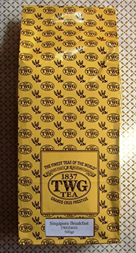 TWG Tea - Singapore Breakfast Tea (TWGT4021) - 17.63oz / 500gr Loose Leaf BULK BAG by Unknown