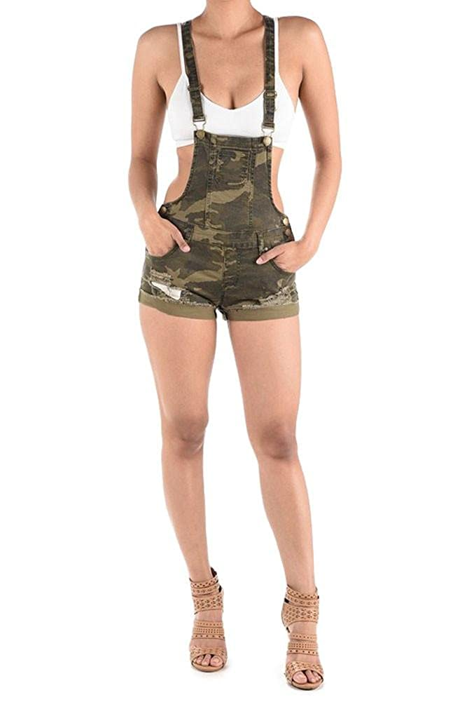 G-Style USA Women's Overall Shorts