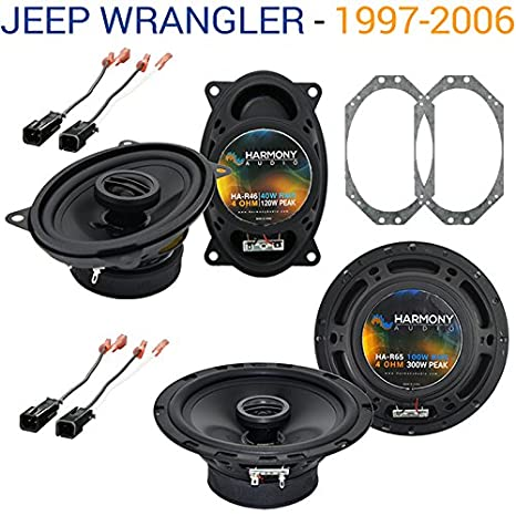 51Bt62YvvvL._SX466_ amazon com jeep wrangler 1997 2006 factory speaker replacement  at readyjetset.co