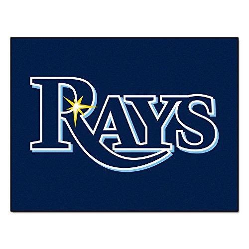 Fanmats MLB Tampa Bay Rays Nylon Face All-Star Rug