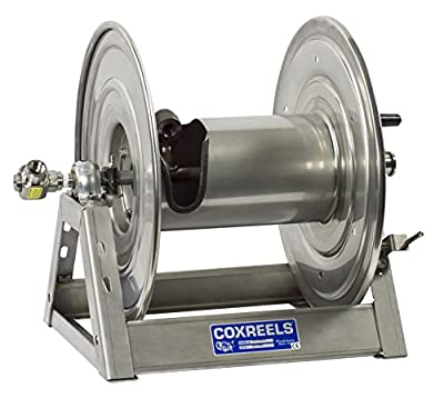 Coxreels 1125-4-100-A-SP Stainless Steel air motor Hose Reel