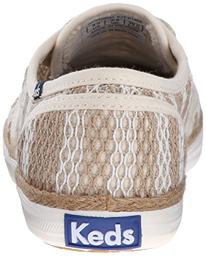 Champion Natural Crochet Sneaker Stripe Cream Keds Women Fashion qO7wA5