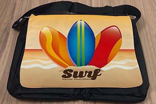 Borsa Tracolla Divertimento tavole da surf Stampato
