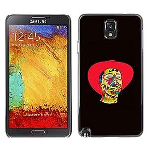 """For Samsung Note 3 N9000 , S-type Vaquero psicodélico"""" - Arte & diseño plástico duro Fundas Cover Cubre Hard Case Cover"""