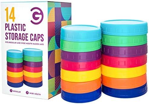 Goods Mall Color Plastic Mason product image